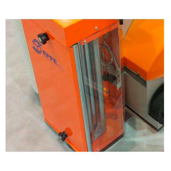 Envolvedora enfardadora semiautomática robot móvil Oscar porta bobinas