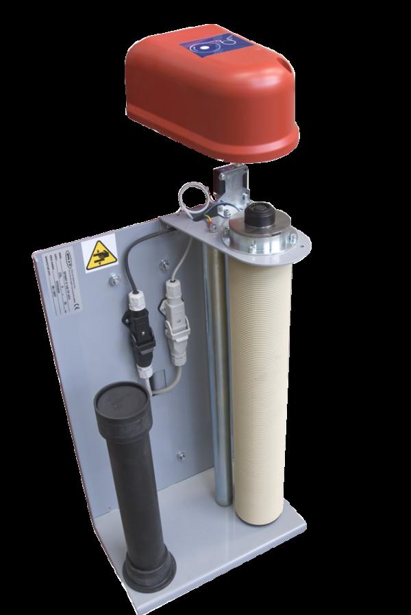 Envolvedora enfardadora automática brazo rotativo Rotax S3200 carro electromagnético