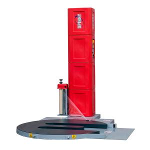 Envolvedora enfardadora semiautomática plataforma giratoria Spinny S140-TP