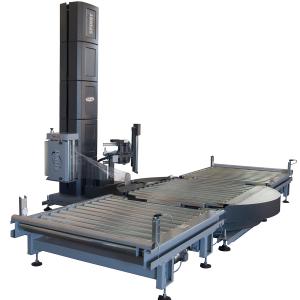 Envolvedora enfardadora semiautomática plataforma giratoria Spinny S2300