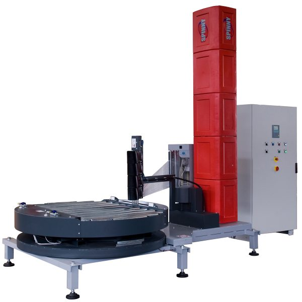 Envolvedora enfardadora semiautomática plataforma giratoria Spinny S2300-4