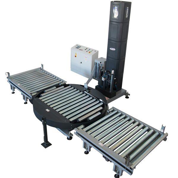 Enfardadora semiautomática con plataforma giratoria Spinny S2300-5