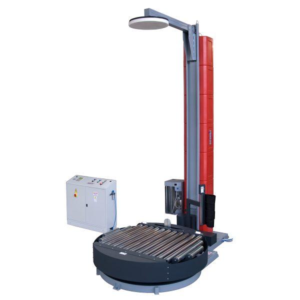 Envolvedora enfardadora semiautomática plataforma giratoria Spinny-S2300 pisor presor