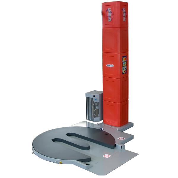 Envolvedora enfardadora semiautomática plataforma giratoria Spinny S300-TP