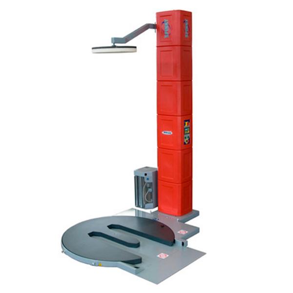 Enfardadora semiautomática con plataforma giratoria Spinny S300-TP pisor 3