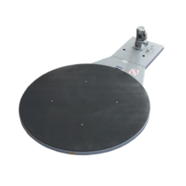 Envolvedora enfardadora semiautomática plataforma giratoria D1800