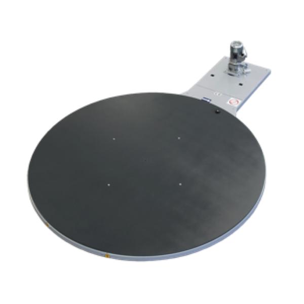 Envolvedora enfardadora semiautomática plataforma giratoria d2200