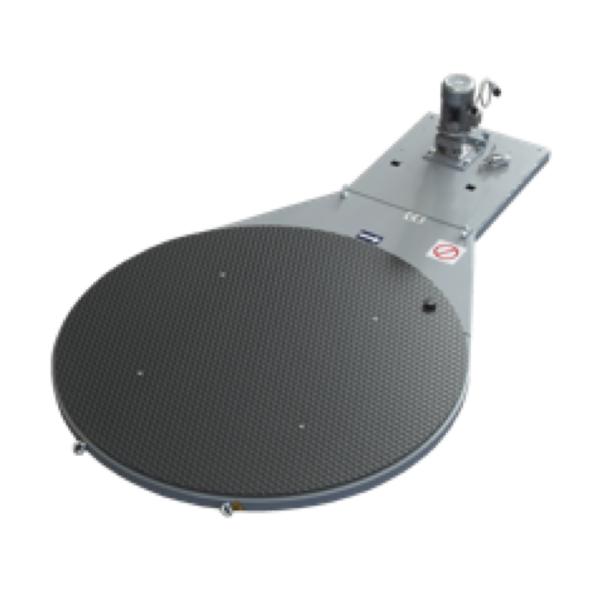 Enfardadora semiautomática plataforma giratoria D1650