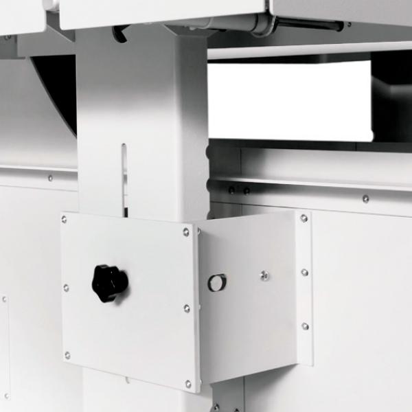Envolvedoras Horizontales para film extensible semiautomática evoring S ggmacchine 4