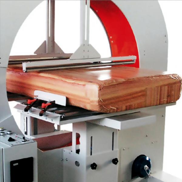 Envolvedoras Horizontales para film extensible semiautomática evoring S ggmacchine 8