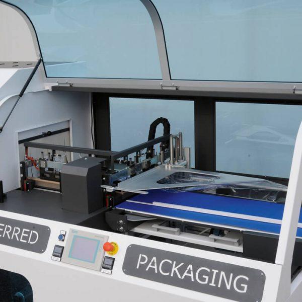 Máquina enfajadora retráctil Film automática Flo dm pack-1
