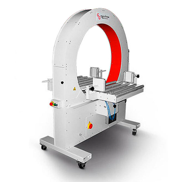 Envolvedoras Horizontales para film extensible semiautomática box1000-s ggmacchine