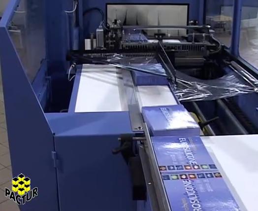 Máquina retractiladora Tunel retráctil Unica- 7