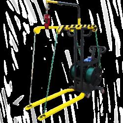 Lanza fleje con Flejadora fricción pkg 400