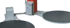 Envolvedora enfardadora semiautomática plataforma giratoria Spinny-S300 DUO-1