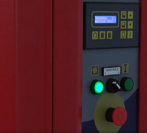 Envolvedora enfardadora semiautomática plataforma giratoria Spinny S300 DUO -4