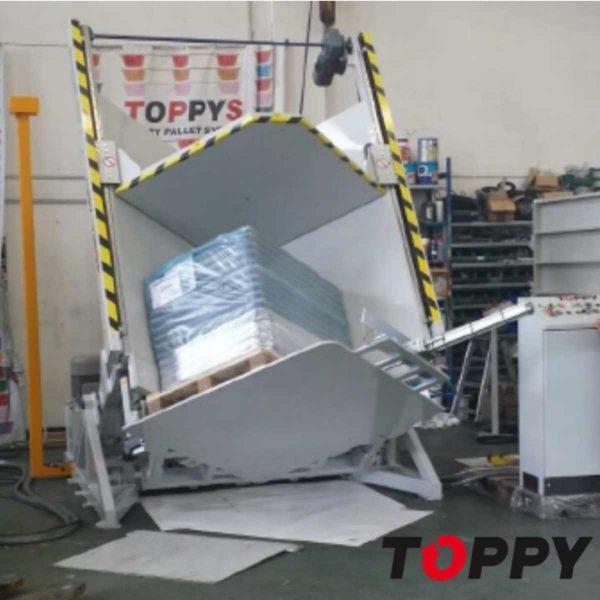 Cambiador de palets TOPPY V-SHAPE-120-3