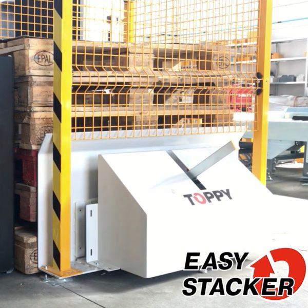 Toppy almacén palets easy stacker