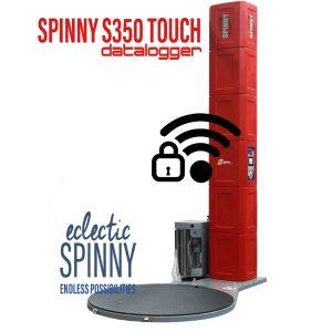 enfardadora spinny s350 touch datalogger